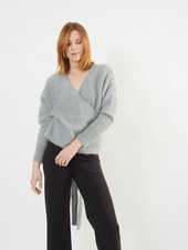 Wrap Sweater - Mist