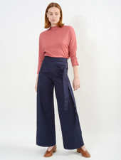 Dolly Tie Pant - Navy