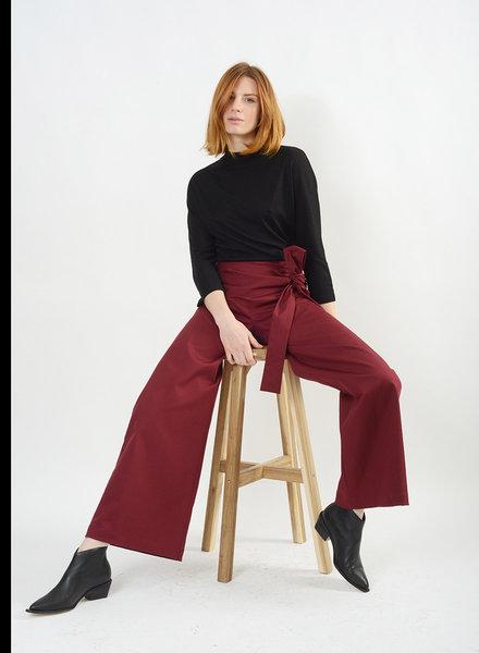 Dolly Tie Pant - Cardinal