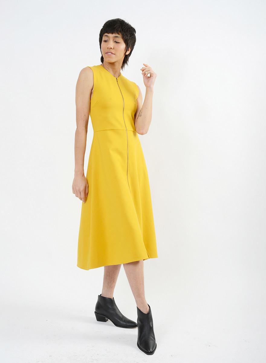Recess Dress - Mustard