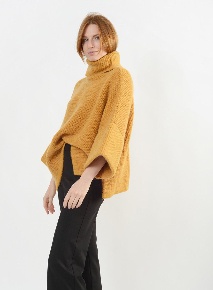 Juno Sweater - Mustard
