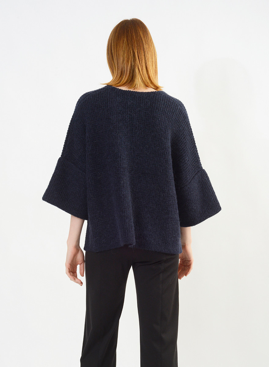 Anchorage Sweater - Peacoat