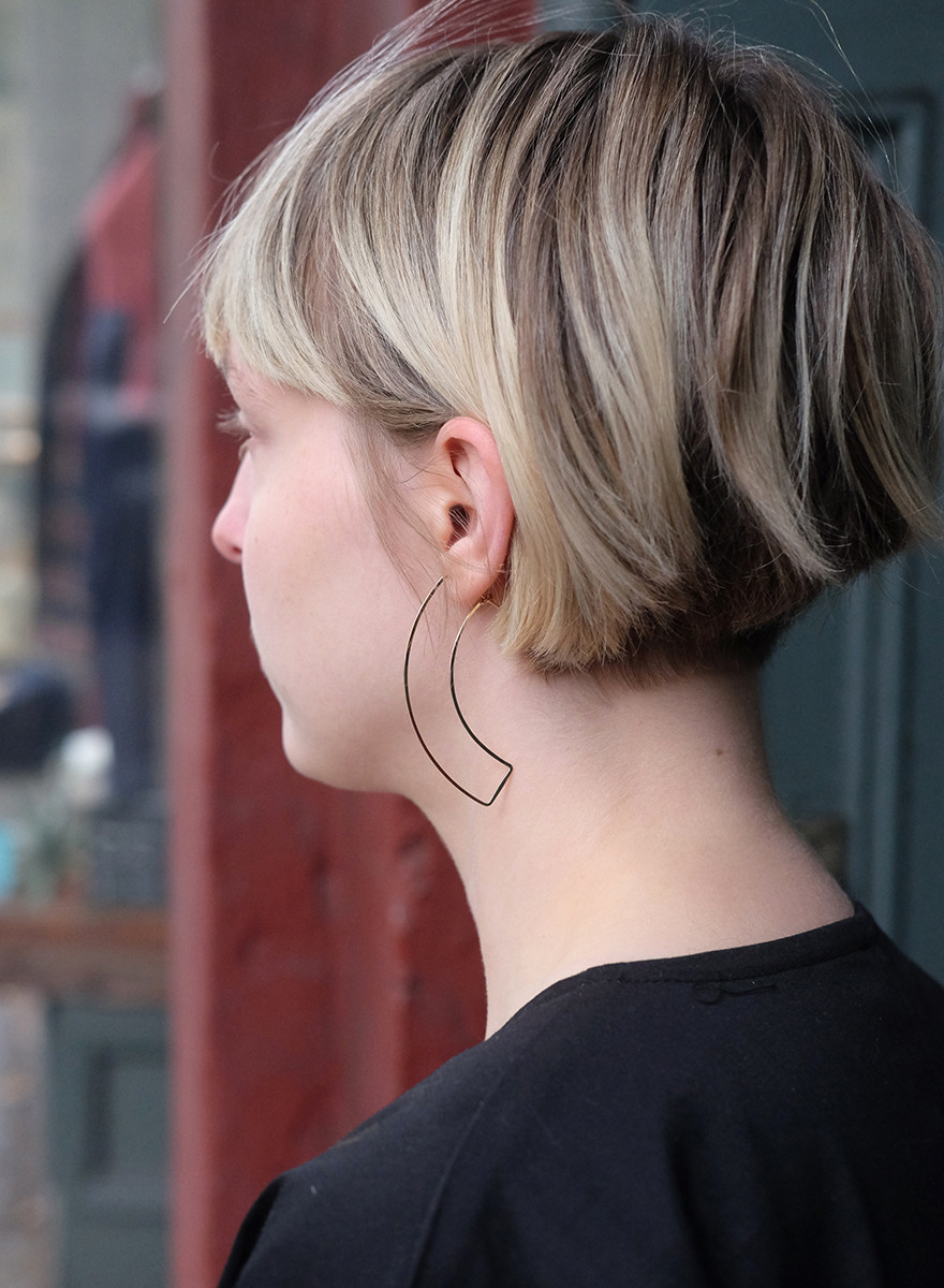 LGreenwalt - Curve Earrings