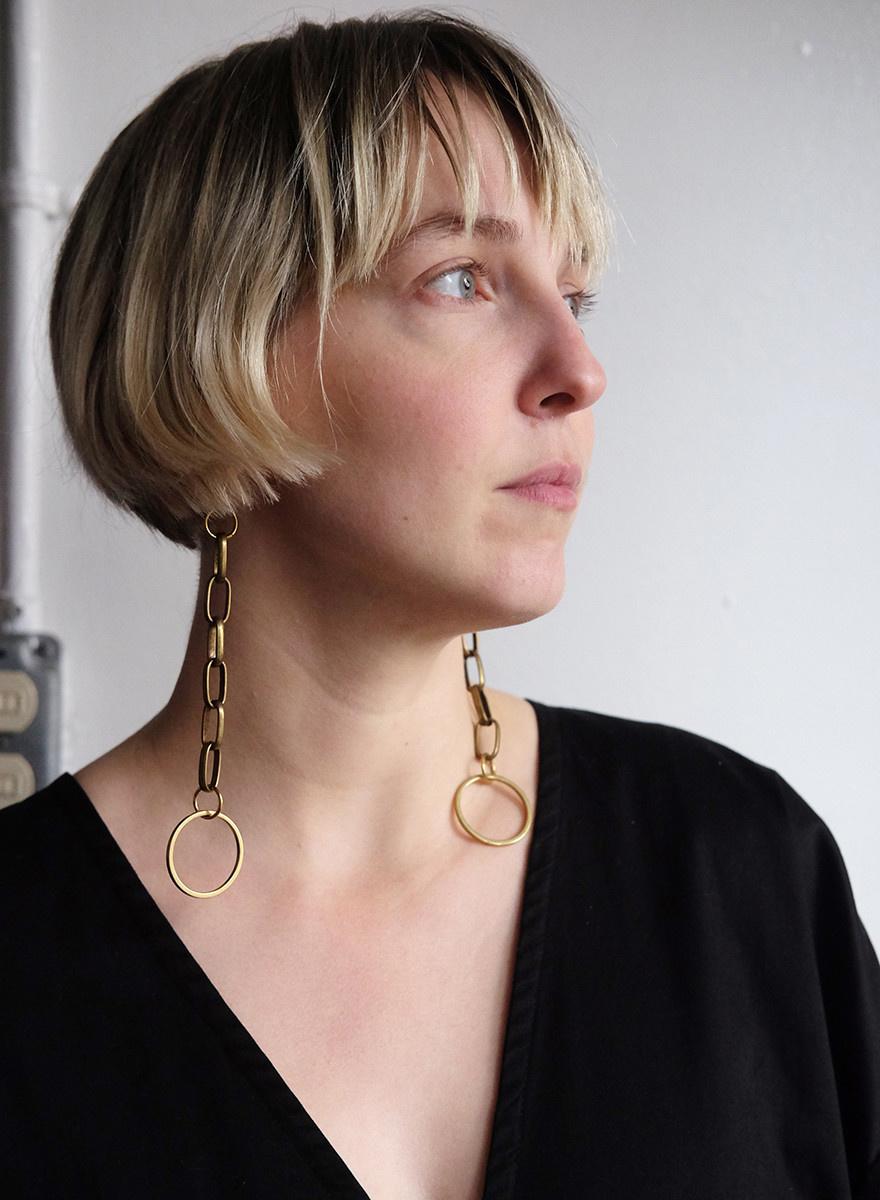 Gran Sans - Chain Link Earrings