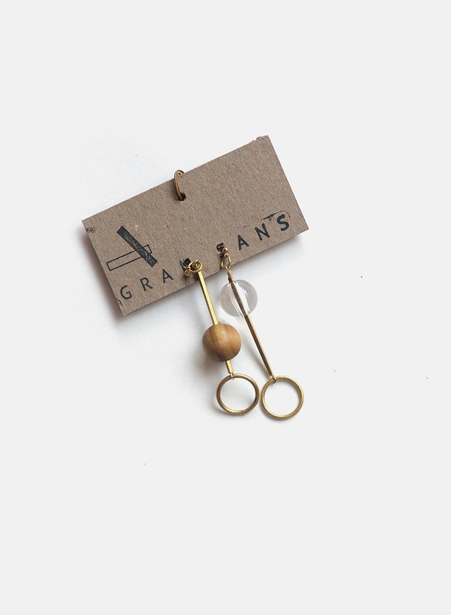 Gran Sans - Inverse Drop Earrings