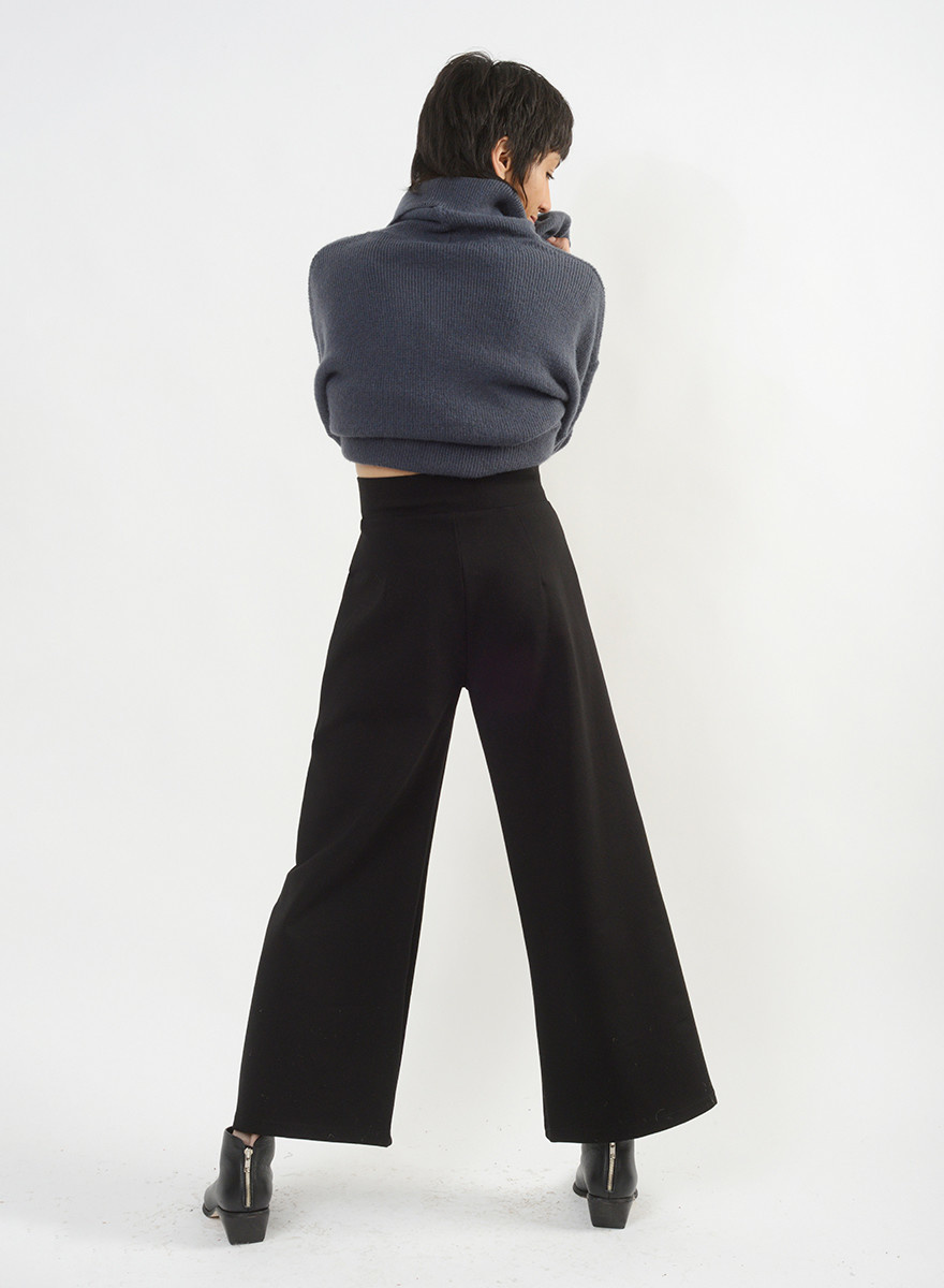 Long Scorpio Pant - Black