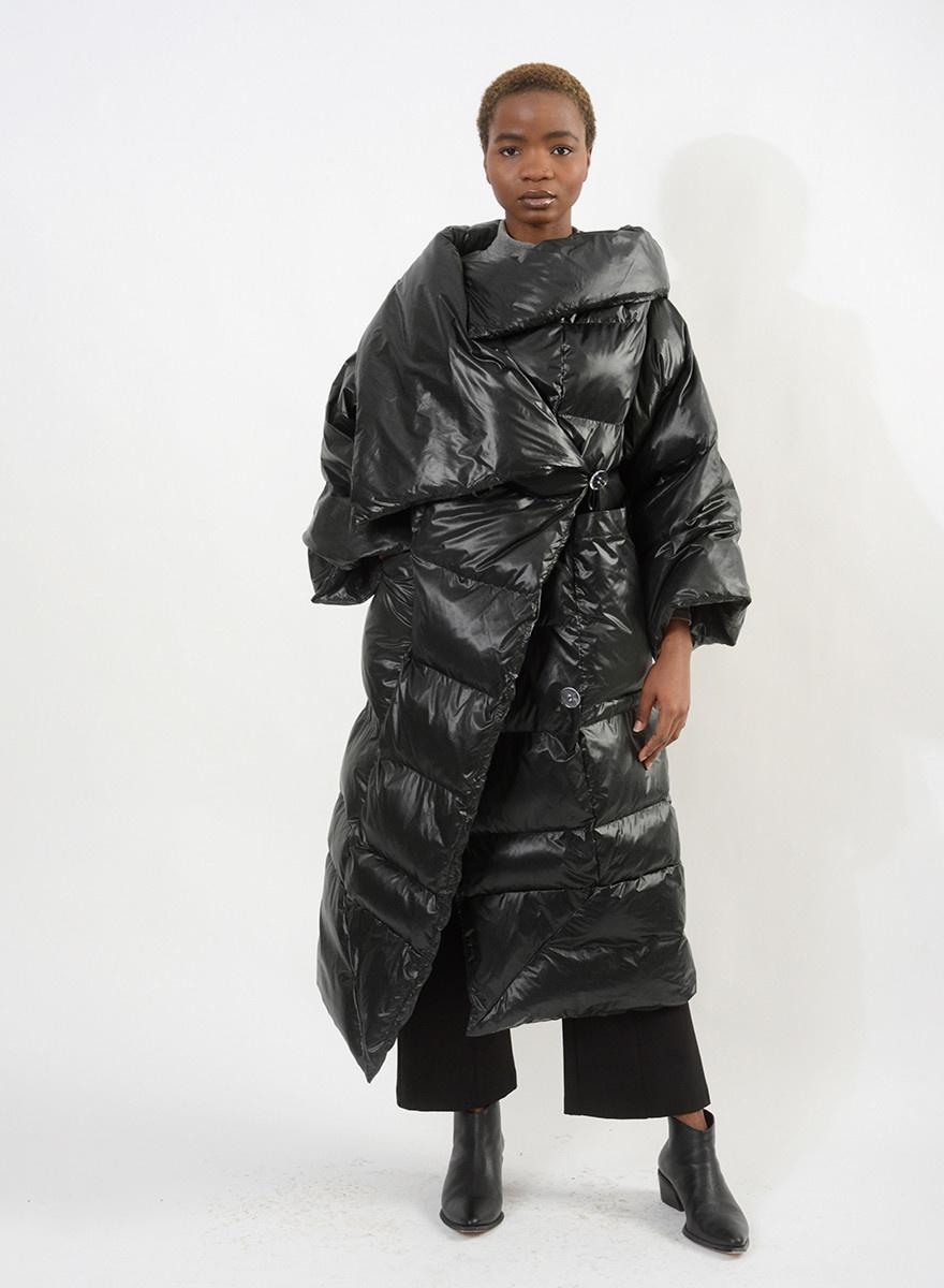 Puffer Coat - Black