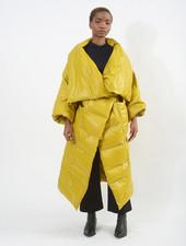 Puffer Coat - Chartreuse