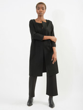 Slit Tunic - Black