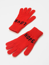 QC Love Hope Gloves - Red/Navy