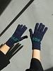 QC Love Hope Gloves - Navy/Green