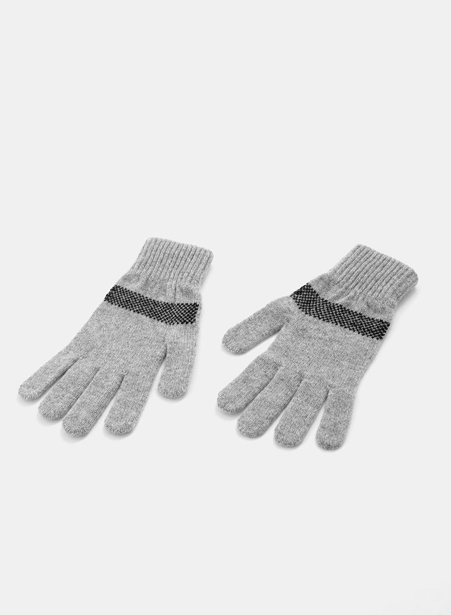 QC Love Hope Gloves - Grey/Black
