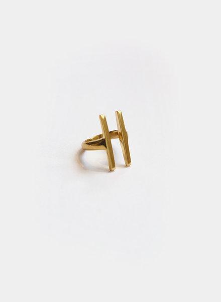 Soko Soko - Double Bar Ring