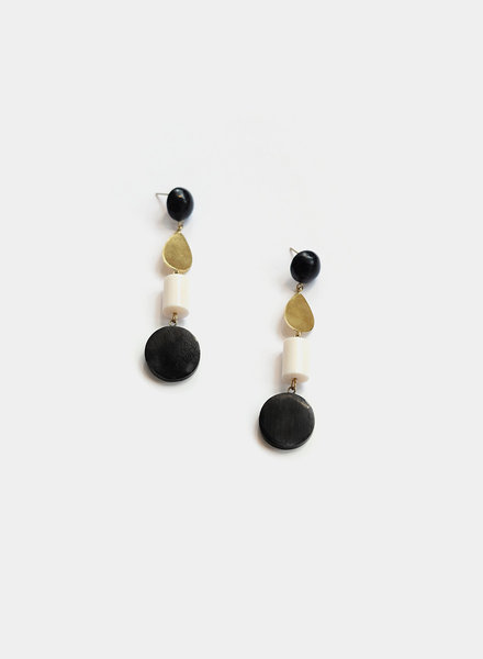 Soko Soko - Luo Dangle Earrings - Multi