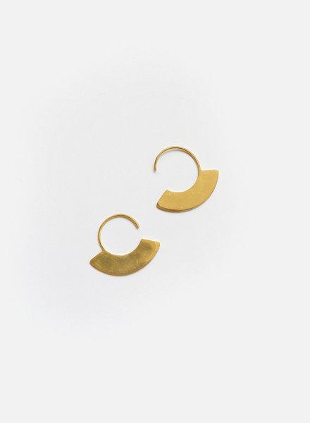 Soko Soko - Petite Paddle Hoop Earrings
