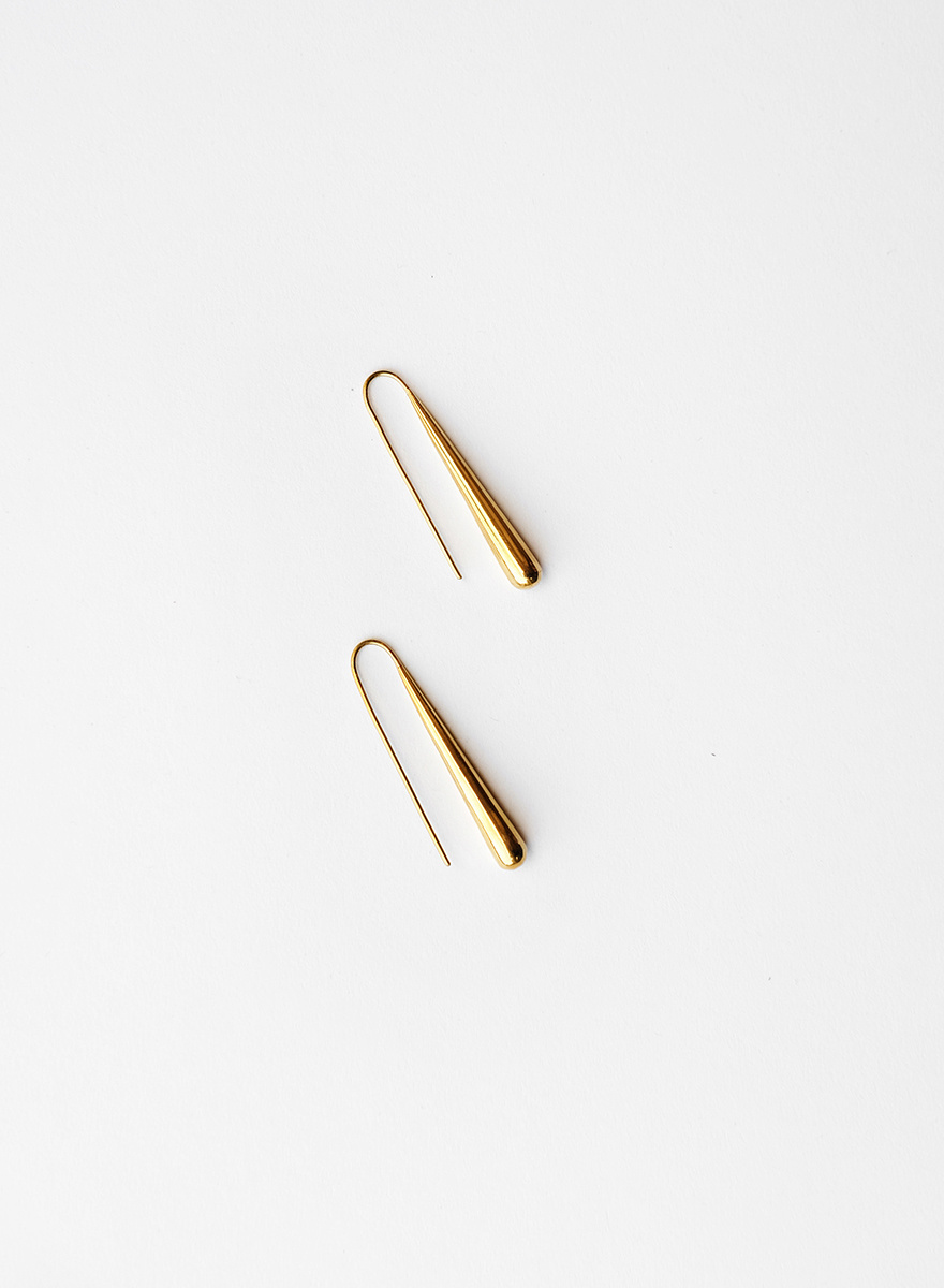 Soko Soko - Teardrop Threader Earrings