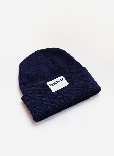 Feminist Hat - Navy