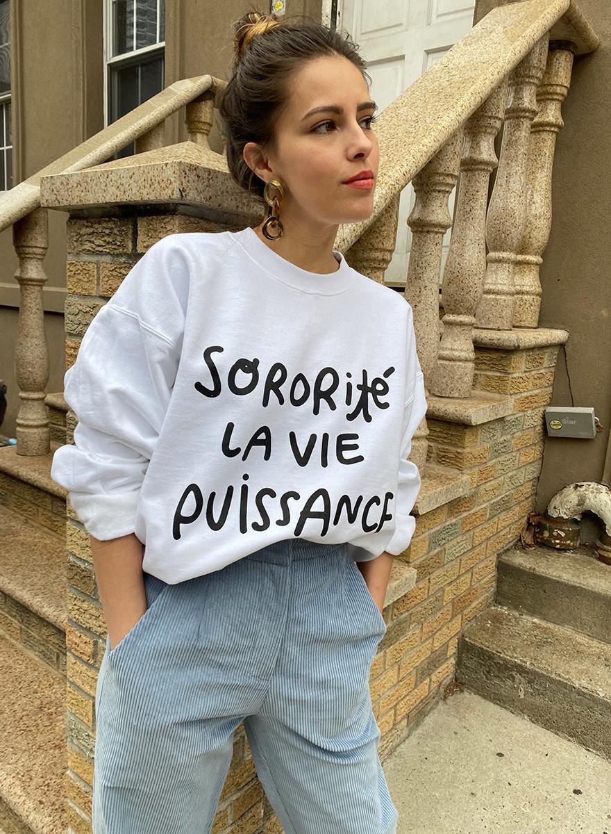 Sisterhood/Life/Power Sweatshirt