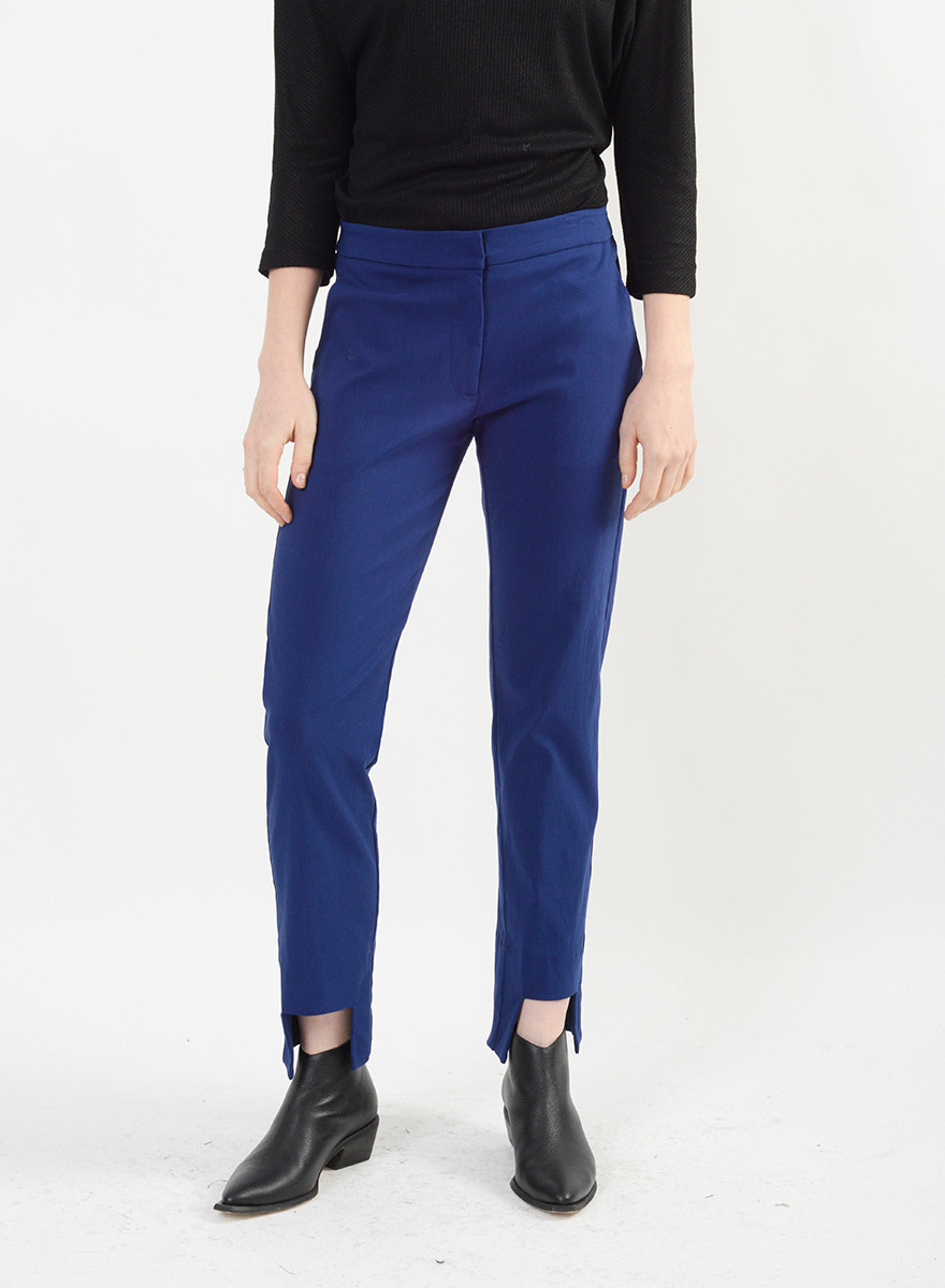 Cut Out Pant - Admiral