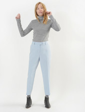 Kai Pant w/Button Ext - Periwinkle