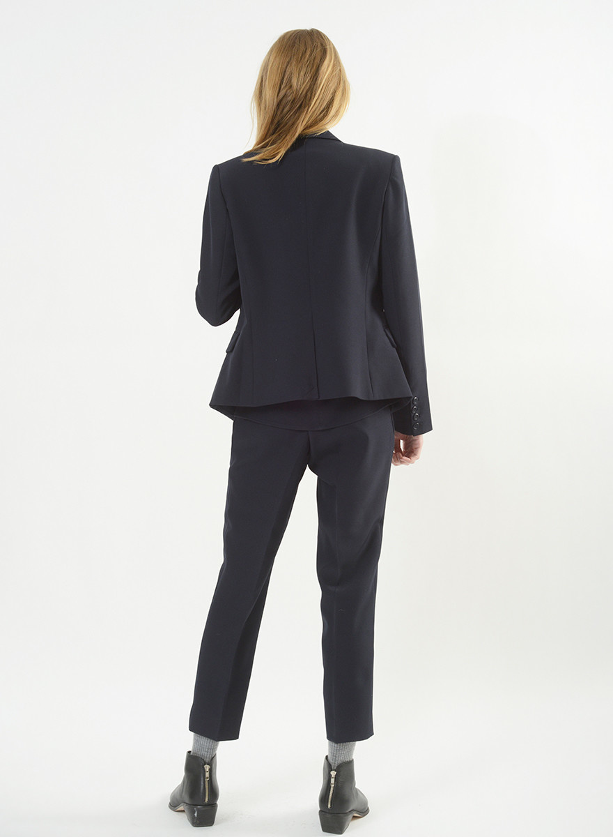 Kai Pant w/Button Ext - Midnight