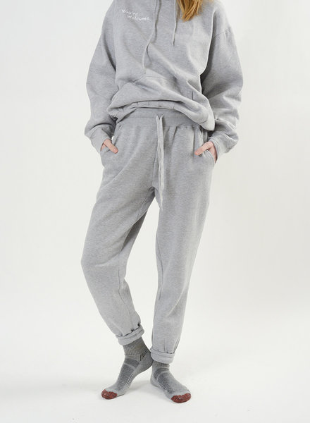 You're Welcome Sweatpant - Grey