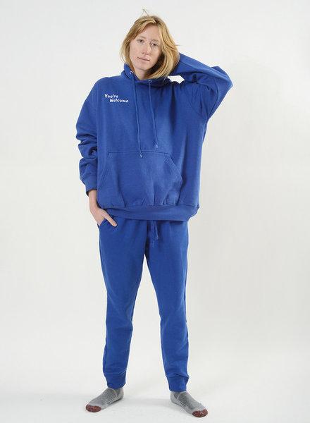You're Welcome Sweatshirt - Blue