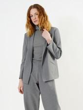 Cozy Column Jacket - Heather Grey