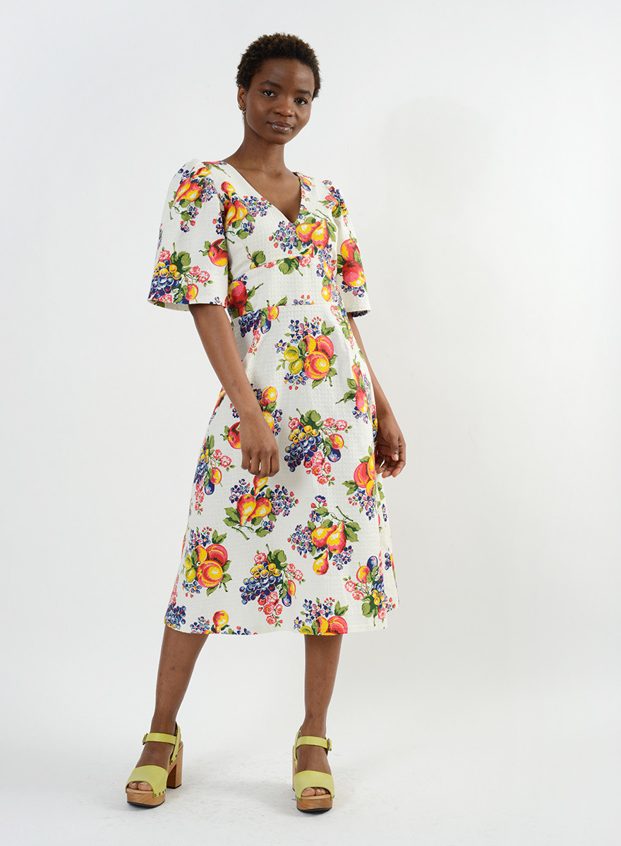 Fruit Dress - Fruit Print