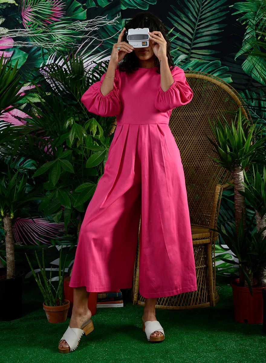 Margarita Jumpsuit - Pink