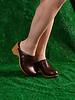Lisa B. High Heel Clog - Acorn