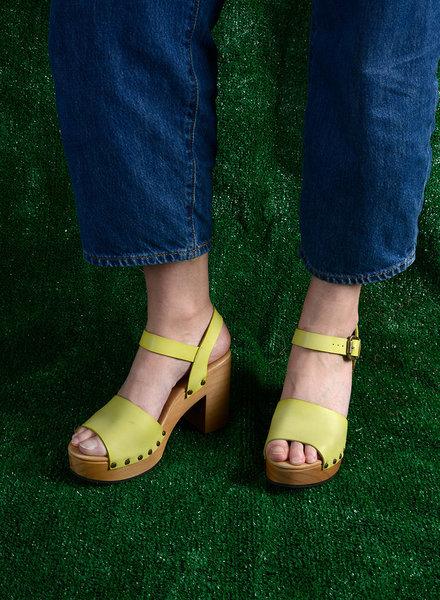 Lisa B. Platform Sandals - Citrus