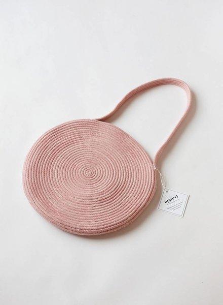 Apprvl Large Rope Tote- Pink