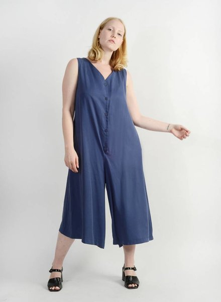 Saville Jumpsuit - Denim