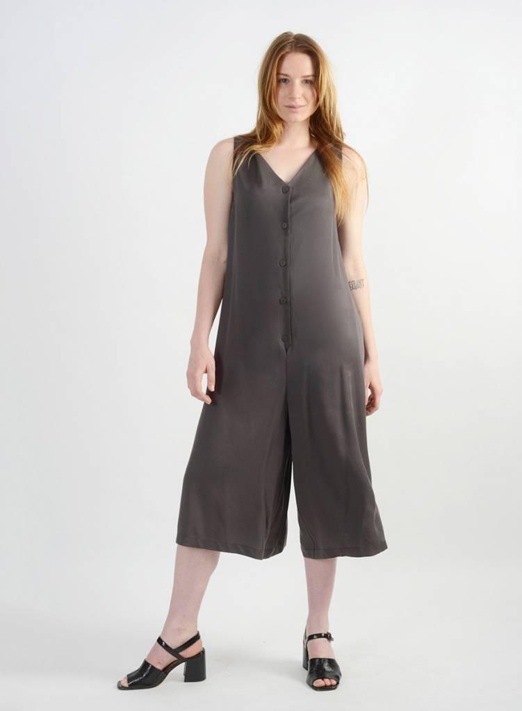 Saville Jumpsuit - Silver