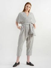 Belize Darcie Jumpsuit - Nickel