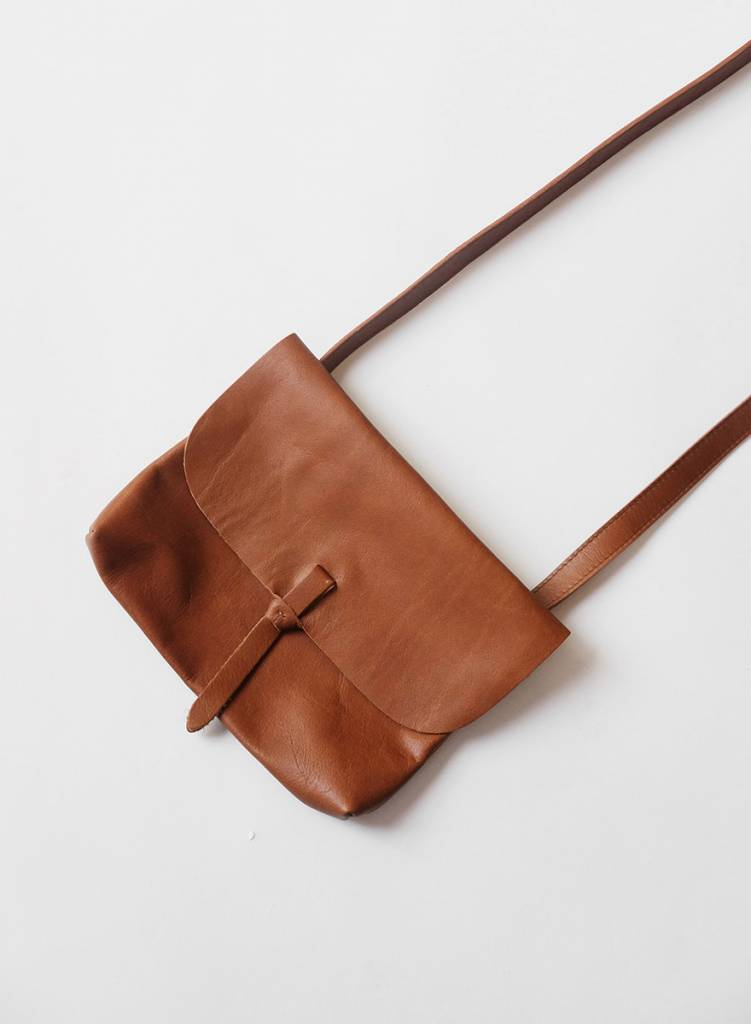 Wrap Belt Bag - Brown