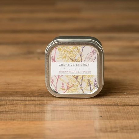 Creative Energy Rosemary and Lavender Tin