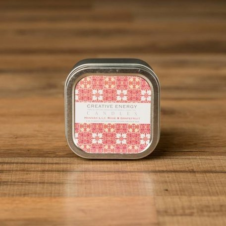 Creative Energy Hannah Lily Grapefruit Tin