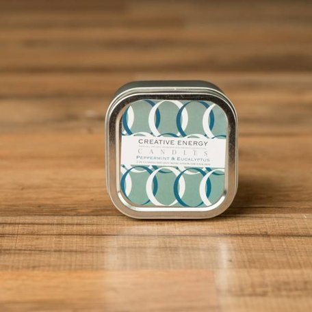 Creative Energy Peppermint and Eucalyptus Tin