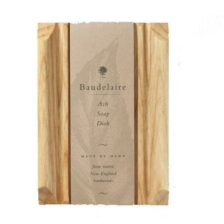 Baudelaire Rectangle Soap Dish Ash