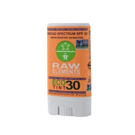 Raw Elements Sunscreen Stick Eco Tint SPF 30