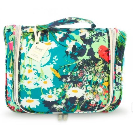 0a7f48cb9500 Tonic Essential Hanging Cosmetic Bag Dusk Meadow