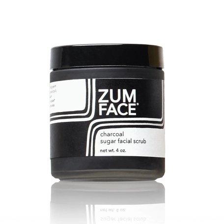 Indigo Wild Zum Face Activated Charcoal Sugar Scrub