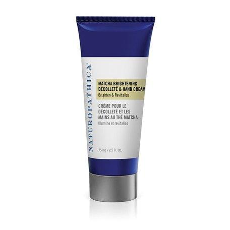 Naturopathica Matcha Brightening Décolleté & Hand Cream