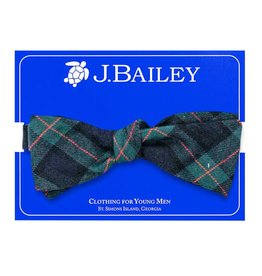 J Bailey McNeill Plaid Bow Tie