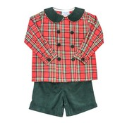 The Bailey Boys Forest Cord Dressy Short Set
