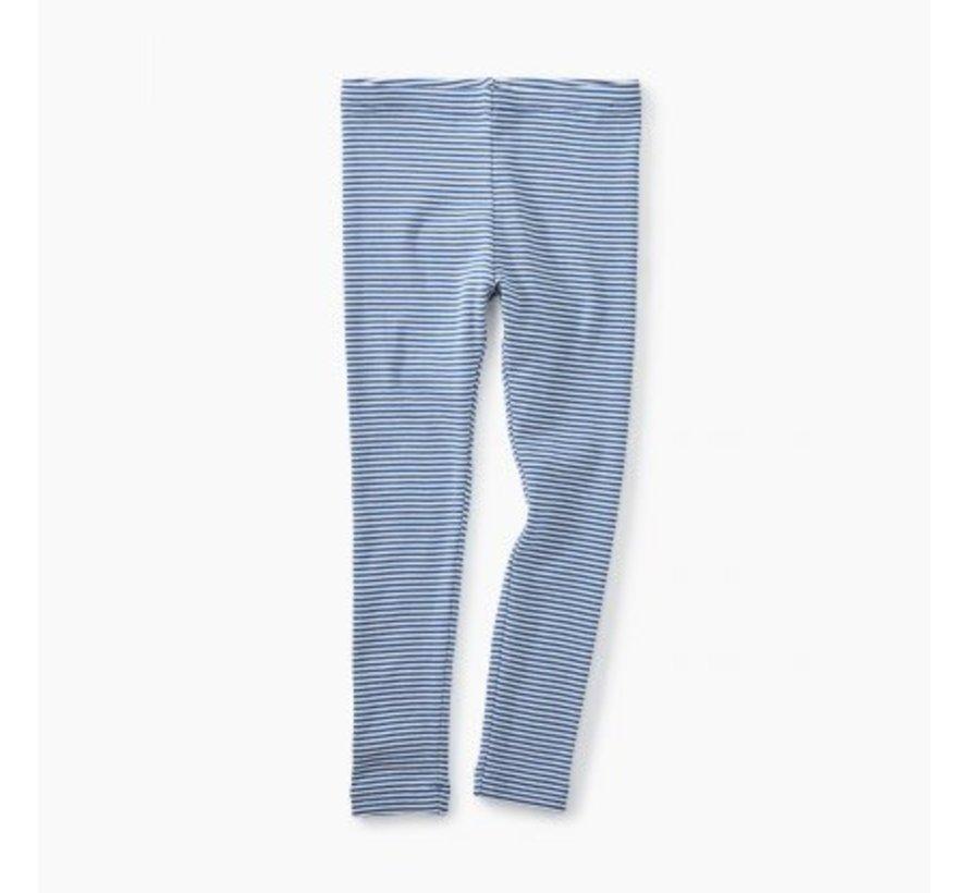 Colbalt Striped Leggings