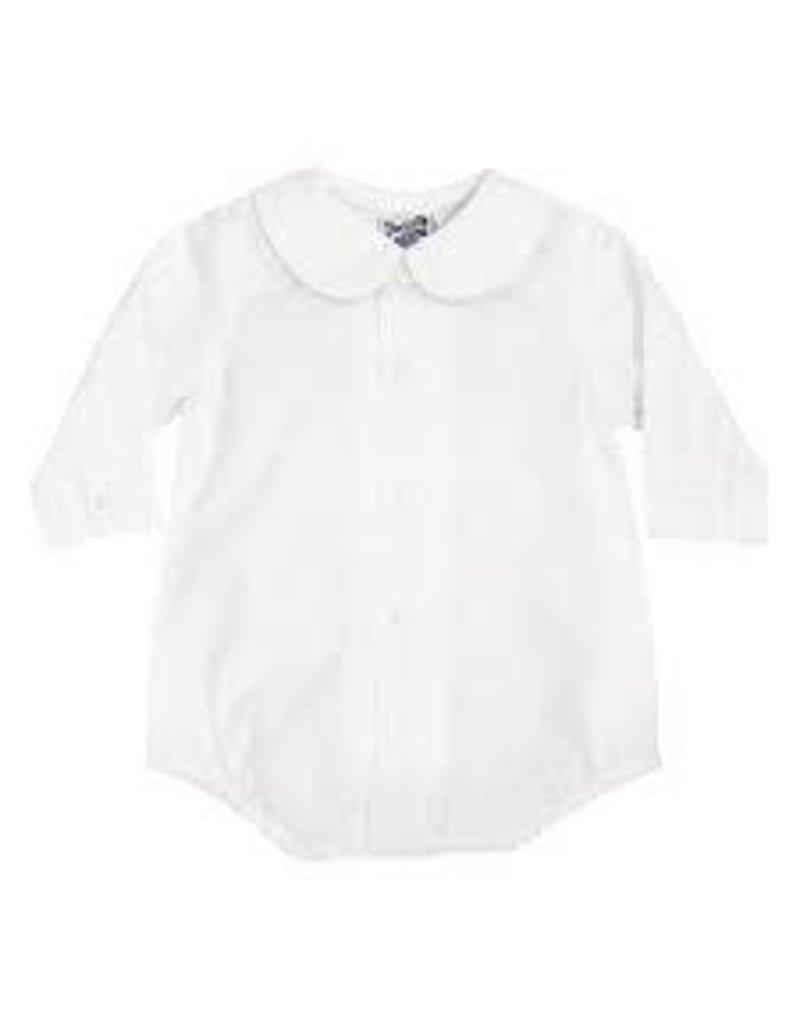 The Bailey Boys Boys Longsleeve Piped Shirt with Snaps