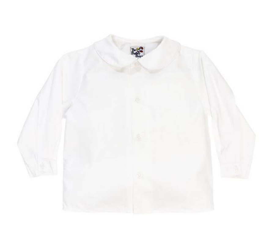 Boys Longsleeve Piped Shirt